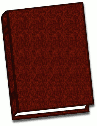 Free Leather Book Clipart.