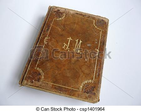 Stock Photo of Old leather.