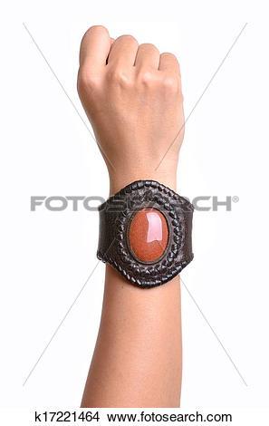 Stock Photo of Leather bracelet k17221464.