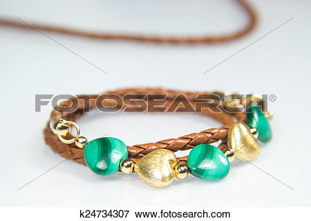 Picture of Leather Bracelet k24734307.