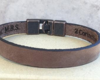 Mens copper bracelet.