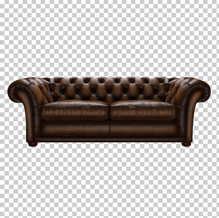 Leather Couch Furniture Chesterfield Sofa Bed PNG, Clipart.