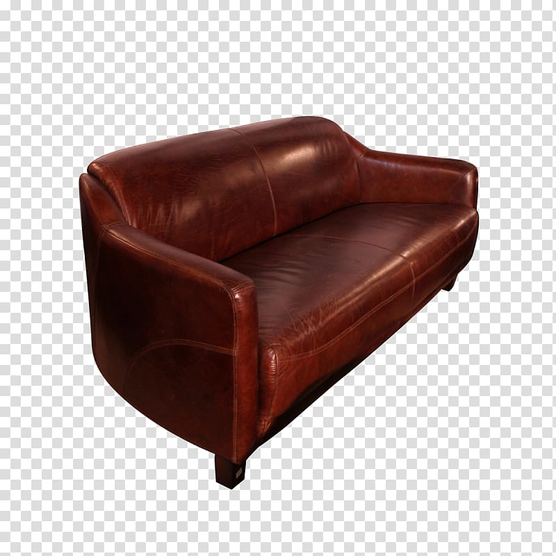 Club chair Leather Couch Furniture House, house transparent.