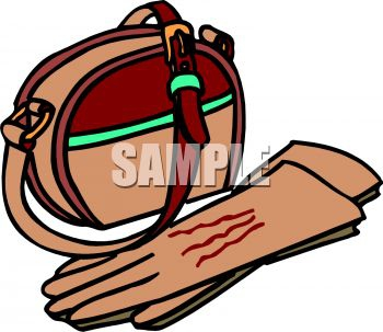 Clip Art Leather Purses Clipart#2062841.
