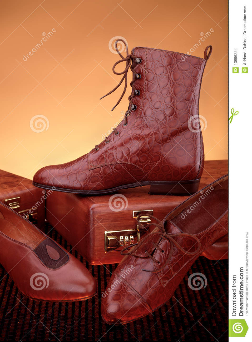 Leather Goods Stock Images.