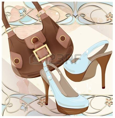 932 Leather Goods Stock Vector Illustration And Royalty Free.