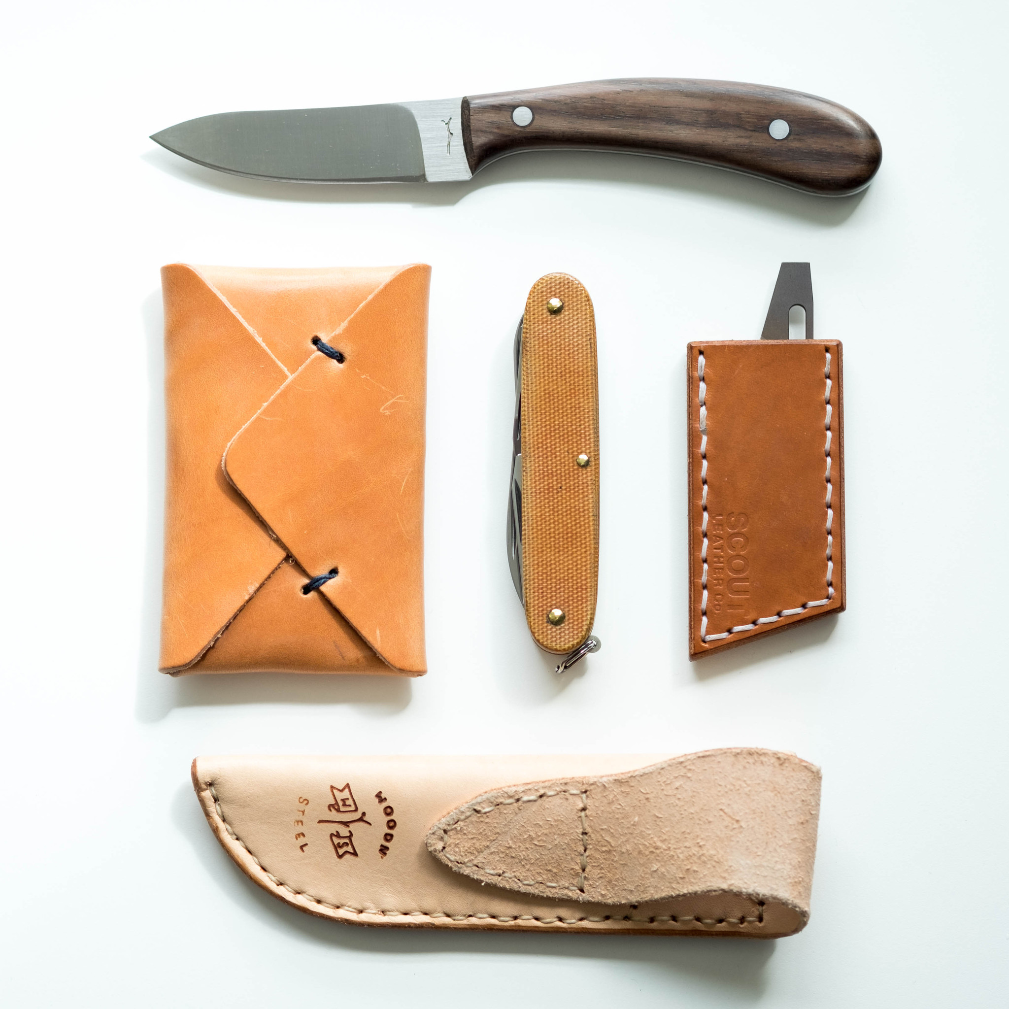 Scout Leather Co. Rexford R.U.T. Leather Sheath.