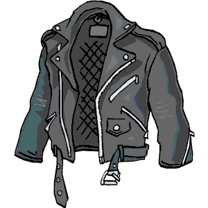 Leather Jacket Cliparts.