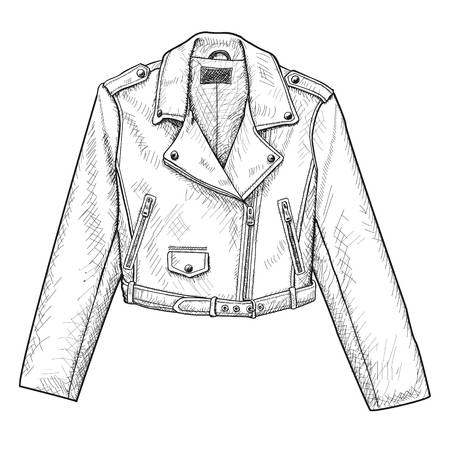 3,160 Leather Jacket Stock Illustrations, Cliparts And.