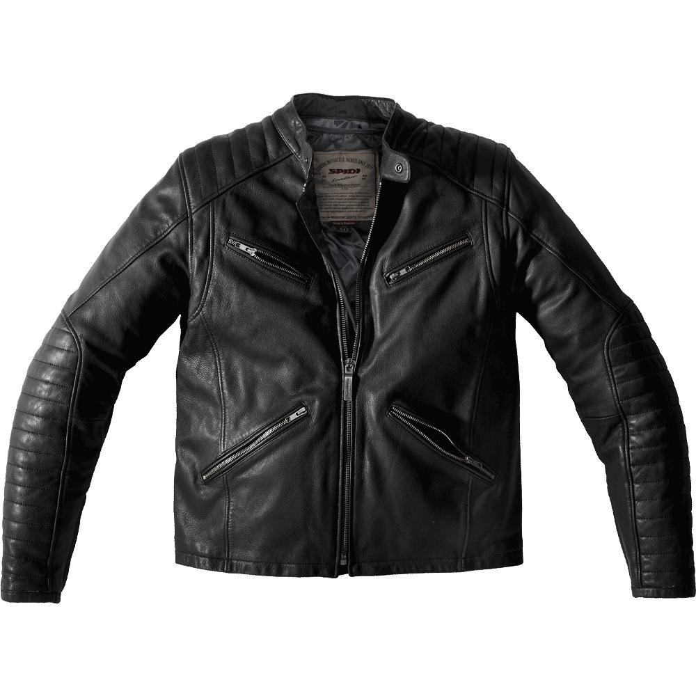 Metal Leather Jacket.