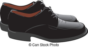 Leather Shoes Clipart.