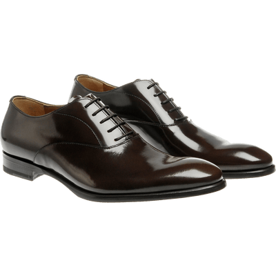 Pair Of Polished Leather Men Shoes transparent PNG.