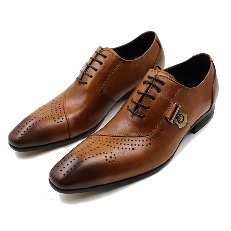 Leather Shoes Transparent Background PNG.