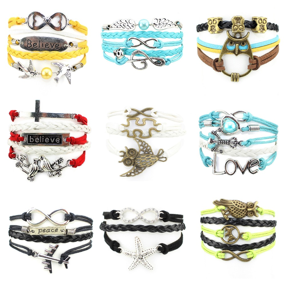 Online Buy Wholesale love leather bracelet engraving from China.