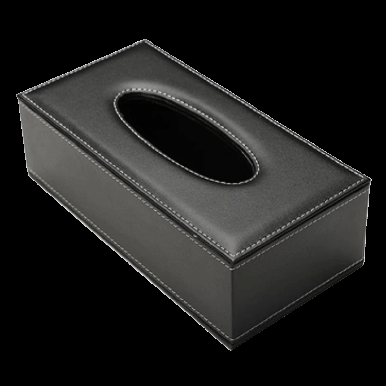 Customized Leather Tissue Box.