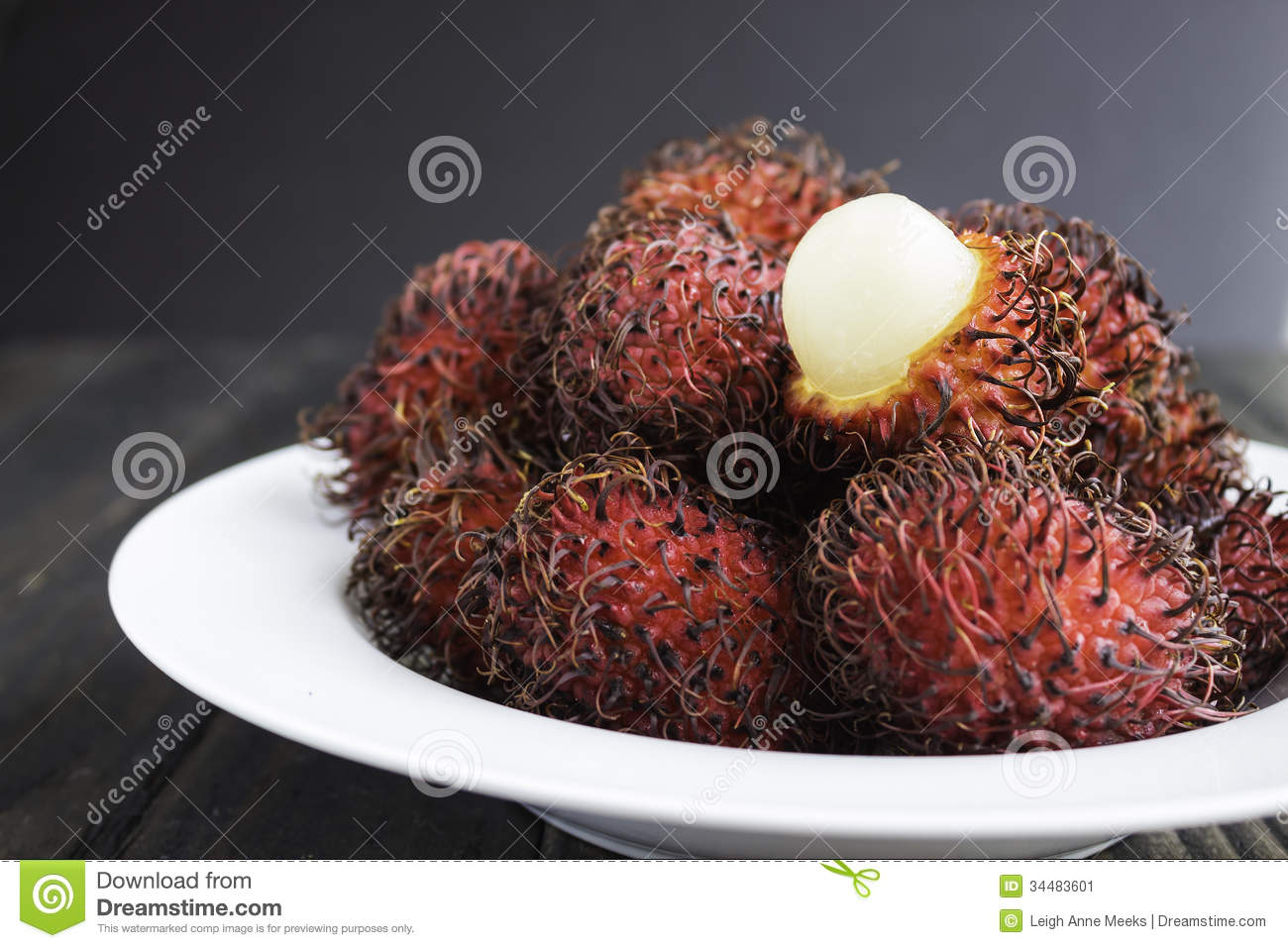 Rambutan Royalty Free Stock Images.