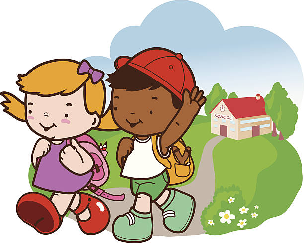 Leaving For School Clipart.