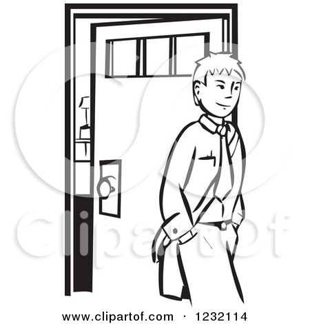 Leave house clipart.