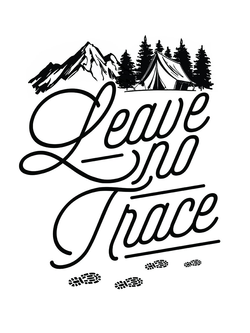 Leave No Trace 13 x 19 Poster Print.