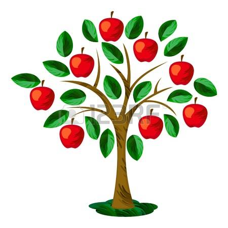 14,751 Apple Tree Stock Illustrations, Cliparts And Royalty Free.