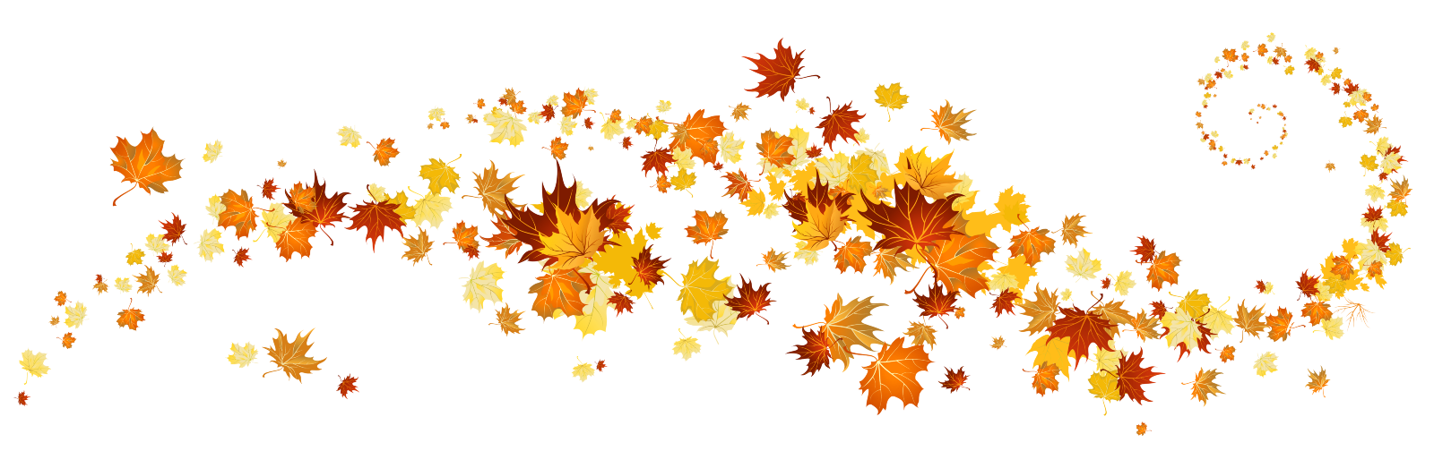 Blowing Leaves Png images collection for free download.