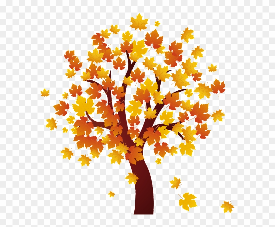 Fall Tree Clip Art.