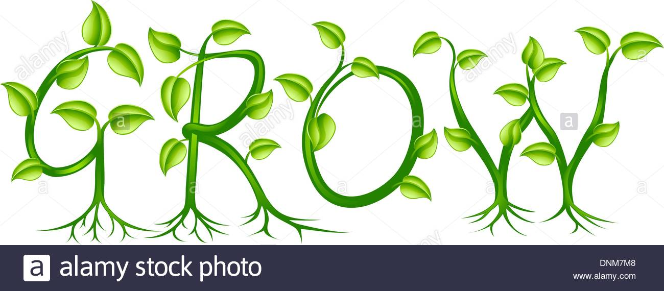 Leaves grow clipart #13