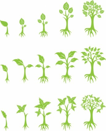 Growing Tree Clipart#2054481.