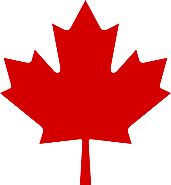Maple Leaf Outline Clipart.