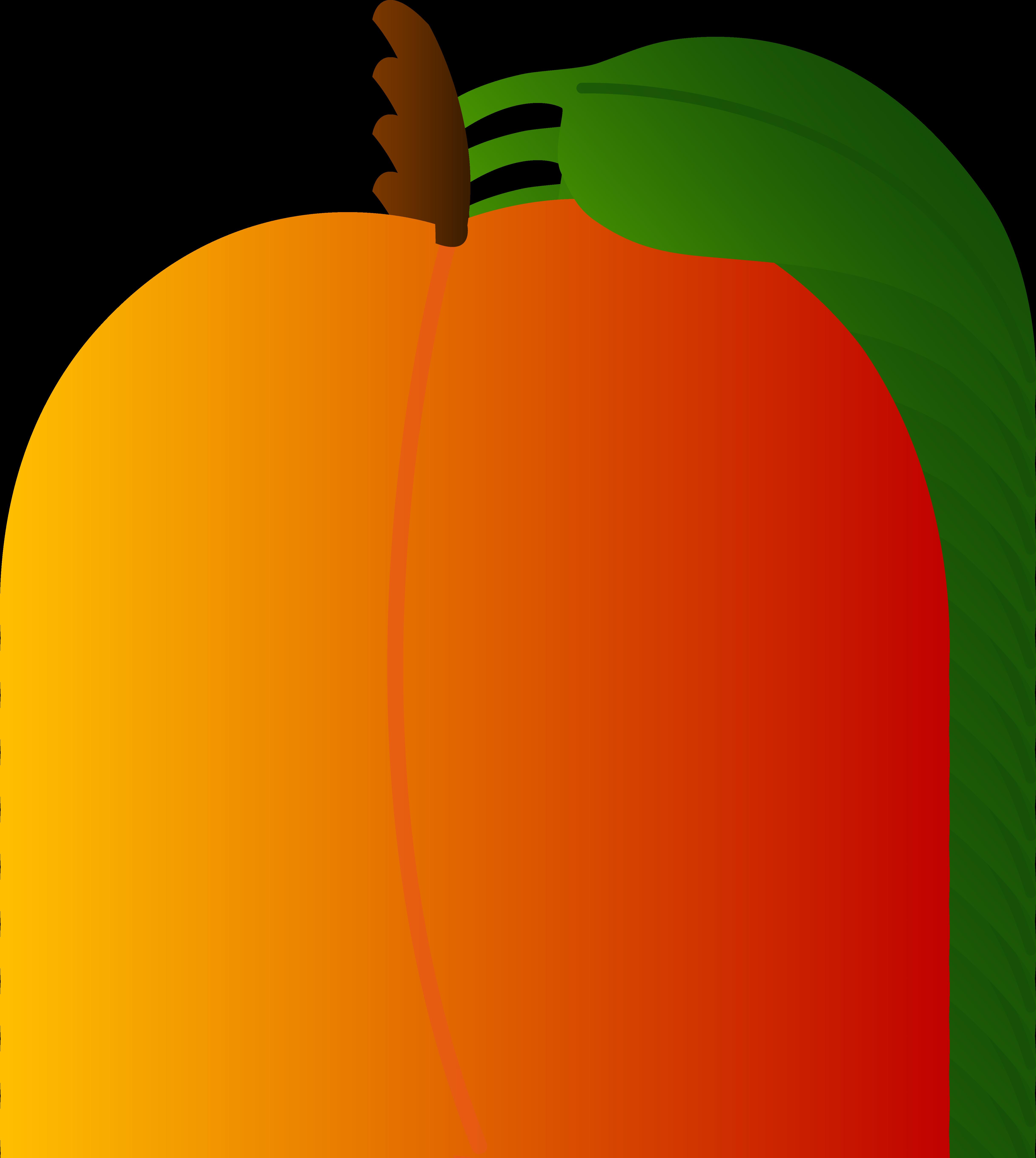 Peach Clip Art Free.