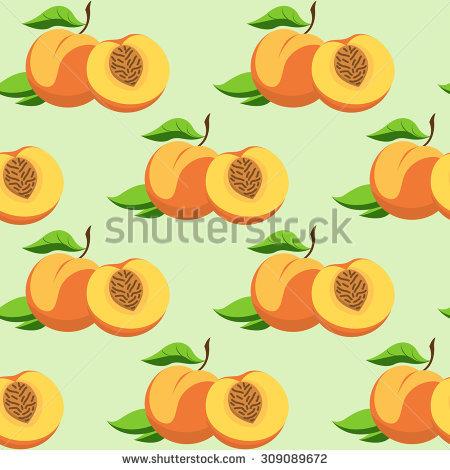 Peach Dessert Stock Vectors & Vector Clip Art.