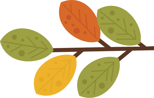Leaves With Branch SVG files for scrapbooking outdoors svg files.
