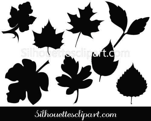 Thanksgiving Silhouette Clip Art.