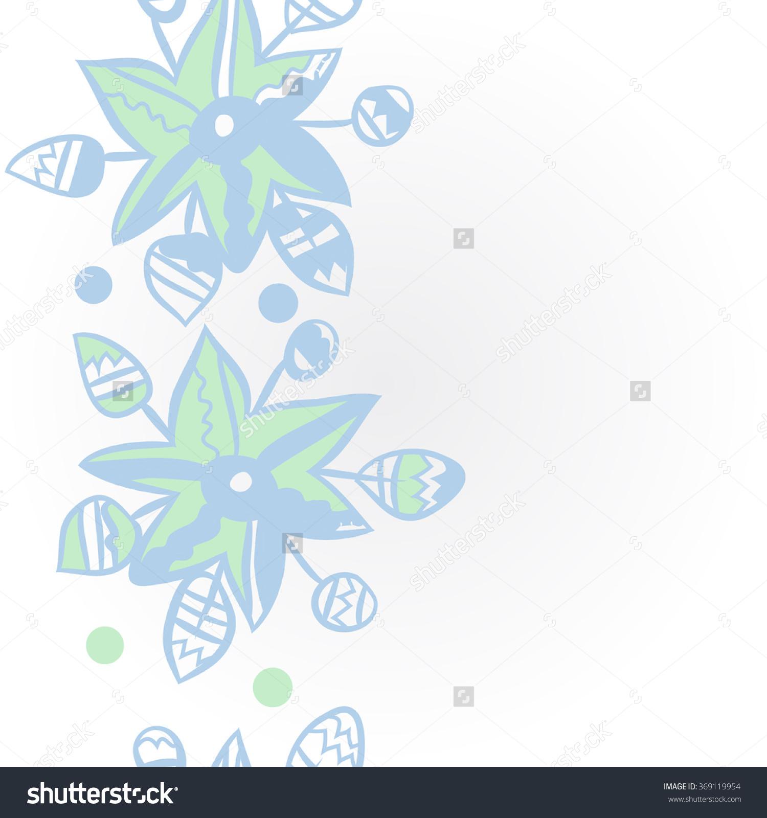 Floral Pattern, Doodles,Leaves,Vertical, Spot, Ellipse, Star.