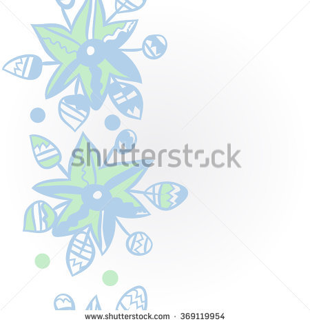 Floral Pattern, Doodles,Leaves,Vertical, Spot, Ellipse, Star.