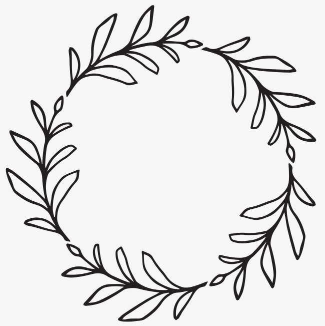 Leaf Wreath Clipart Png.