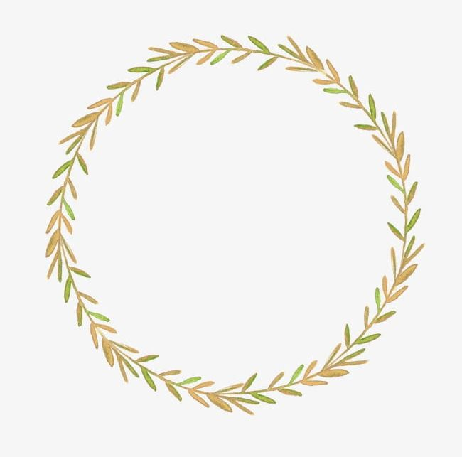 Leaf Wreath PNG, Clipart, Circle, Colored, Flowers, Leaf.