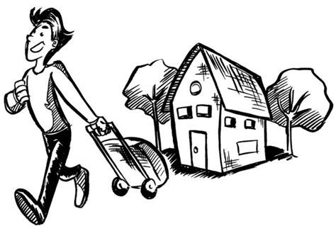 Leaving the house clipart 2 » Clipart Portal.
