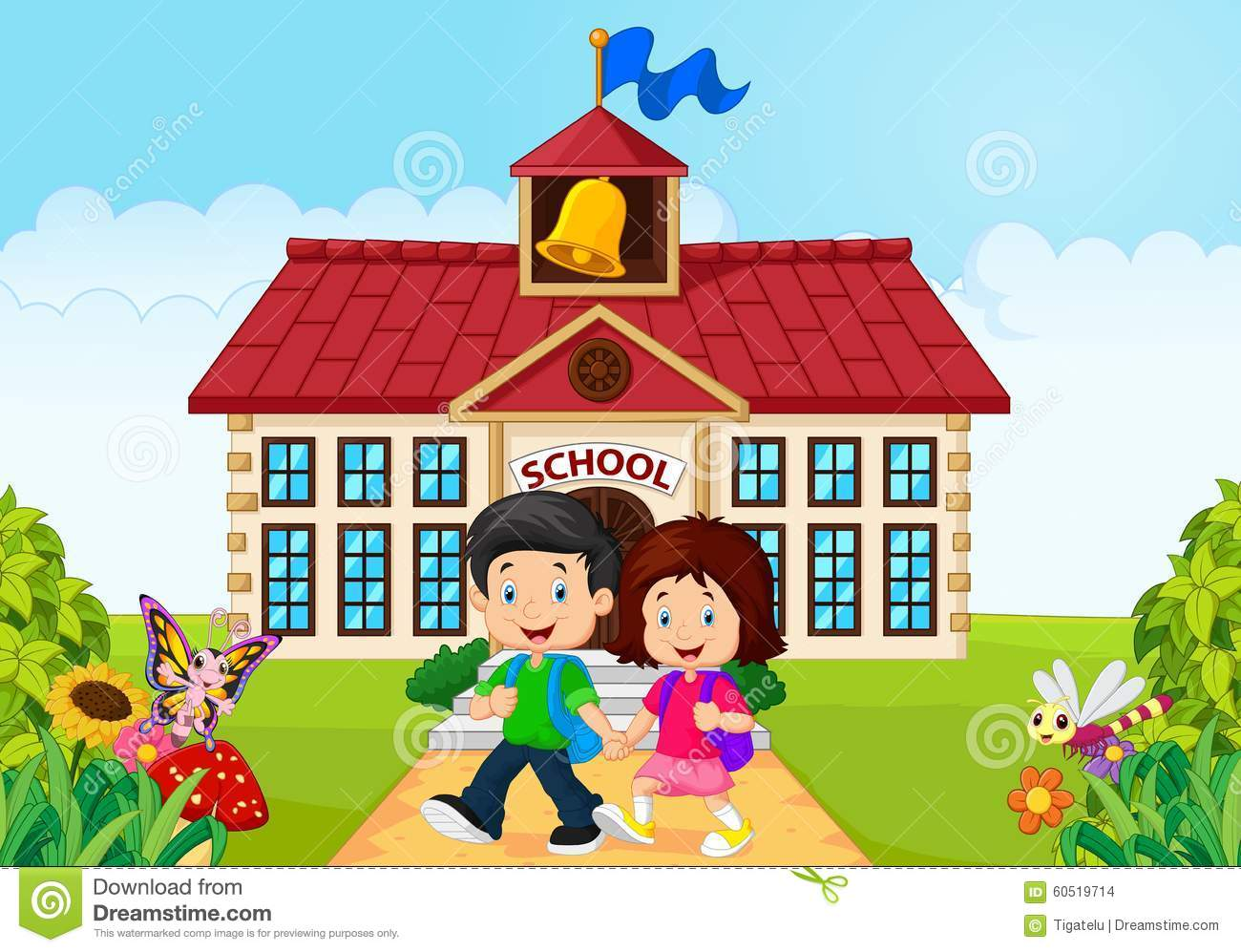 Leaving School Clipart.