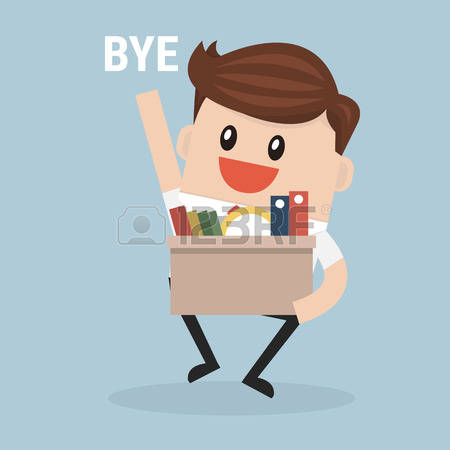 1,670 Leaving Work Stock Vector Illustration And Royalty Free.
