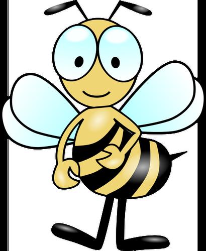 Gambar Lebah Kartun Png.