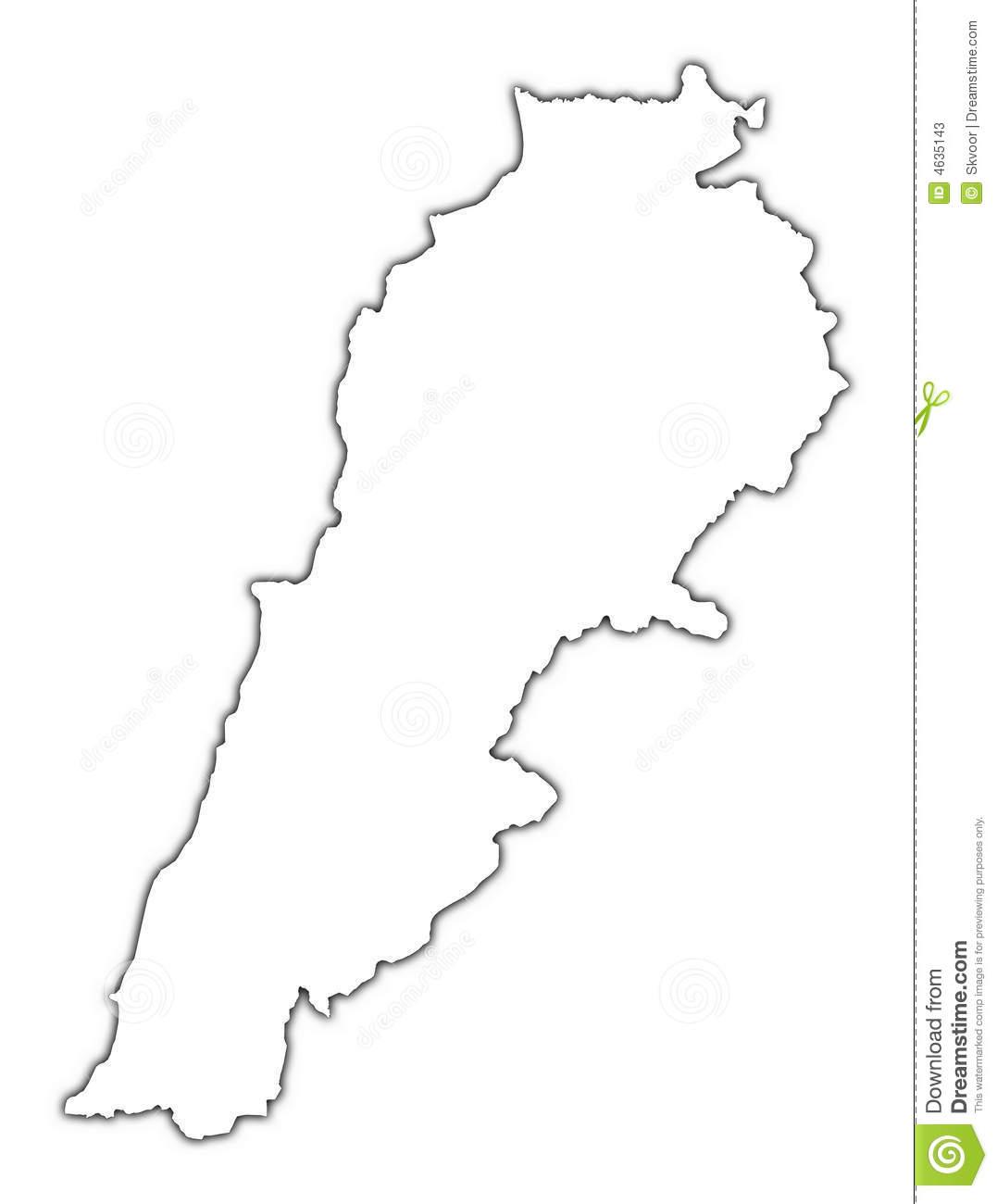 Lebanon Black And White Clipart Clipground