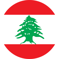 Lebanon flag icon.