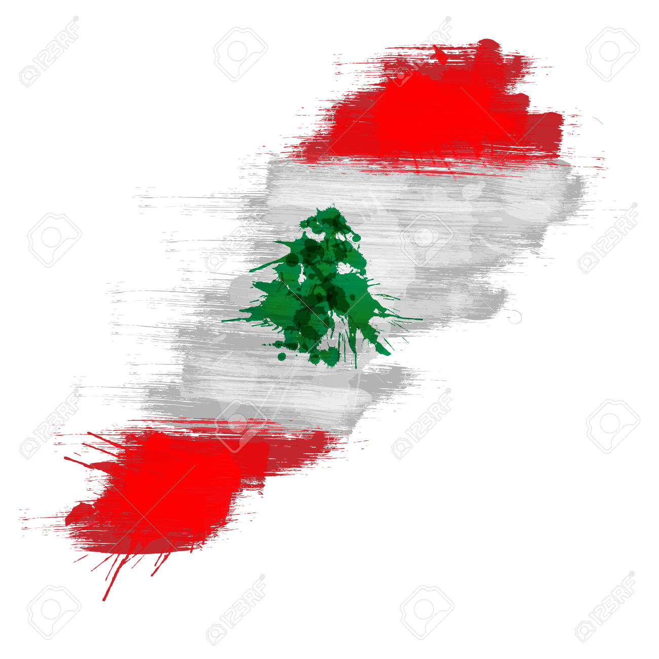 467 Lebanese Map Stock Vector Illustration And Royalty Free.