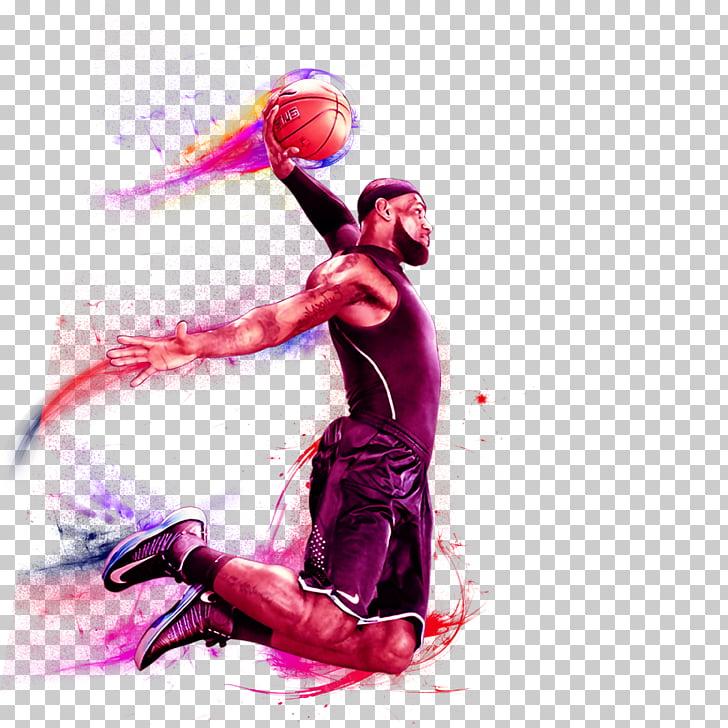 Basketball Slam dunk , Basketball trapeze, Lebron James Dunk.
