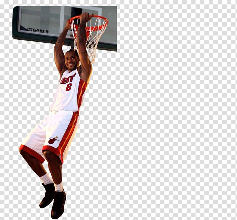Cleveland Cavaliers The NBA Finals Miami Heat Slam dunk.