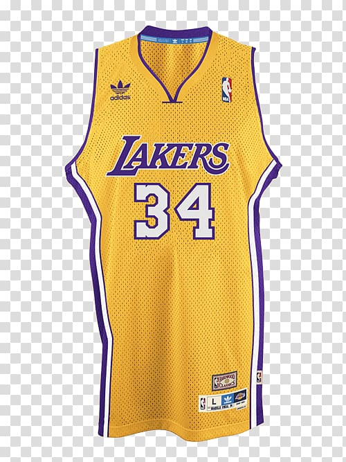 97 Los Angeles Lakers season NBA Jersey Swingman, Los.