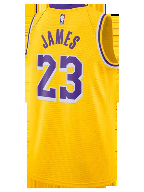 Los Angeles Lakers LeBron James 2018.