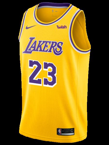 Los Angeles Lakers LeBron James 2019.