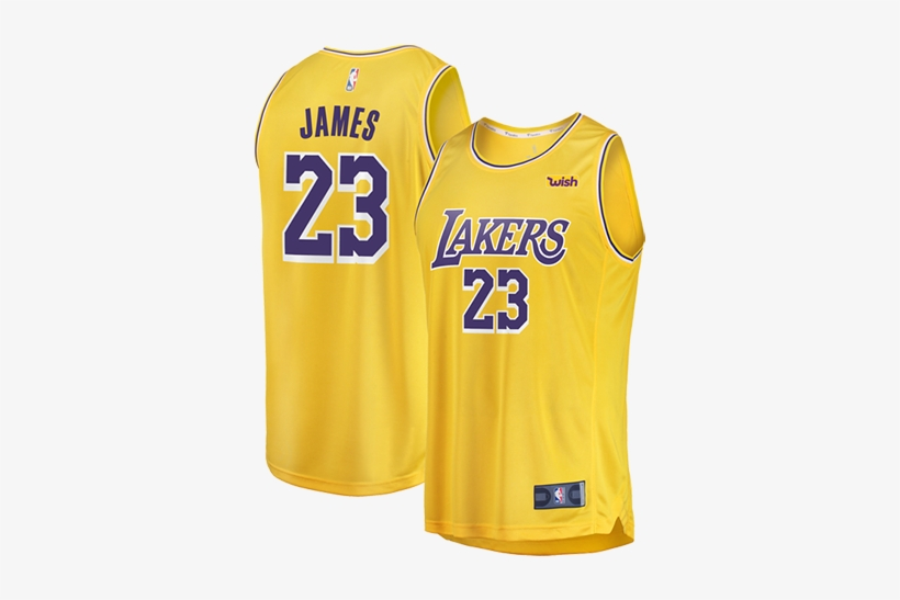 Los Angeles Lakers Lebron James Replica Jersey.
